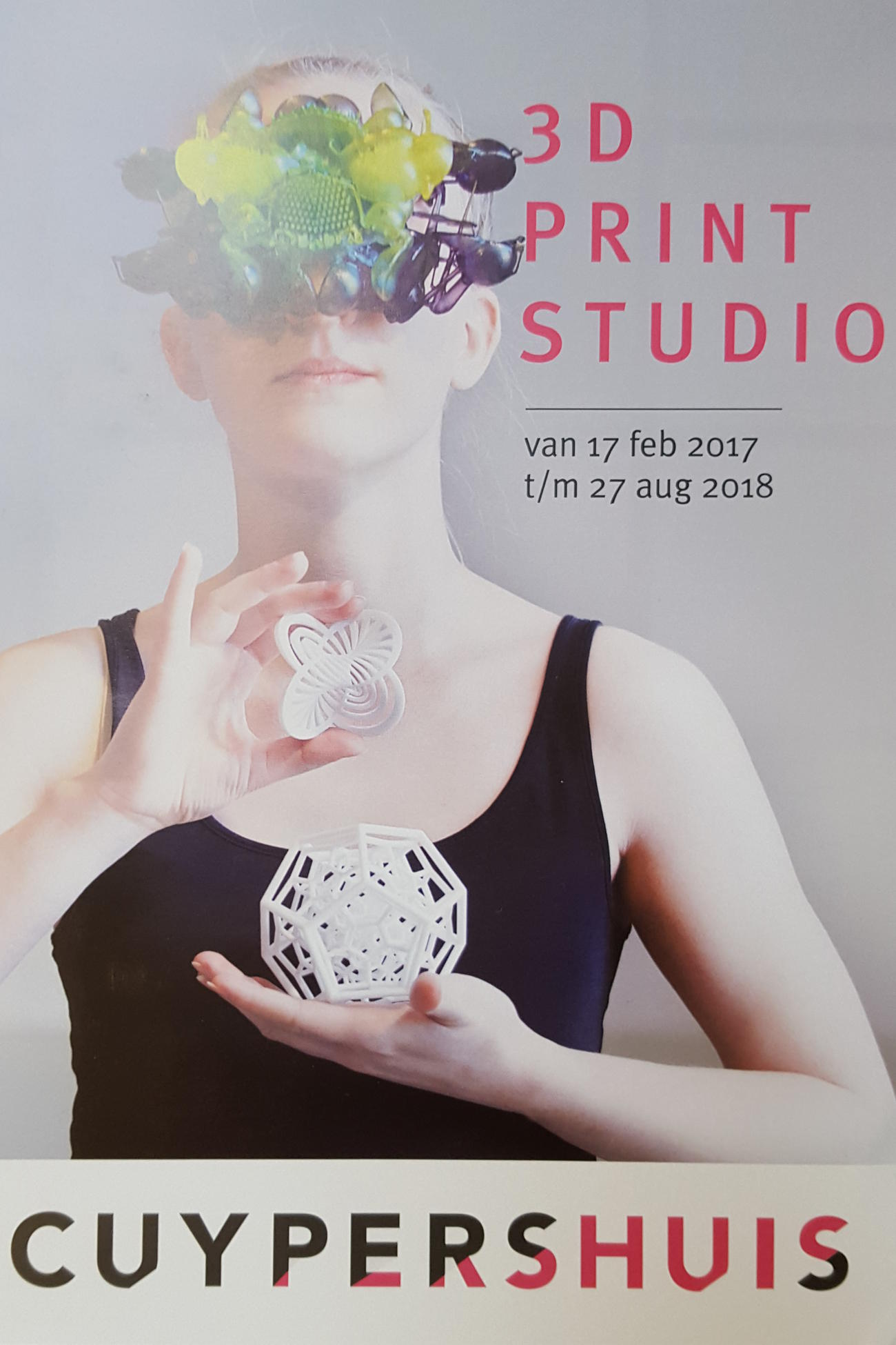 Invitation to exhibition at Cuyperhuis (Netherlands)