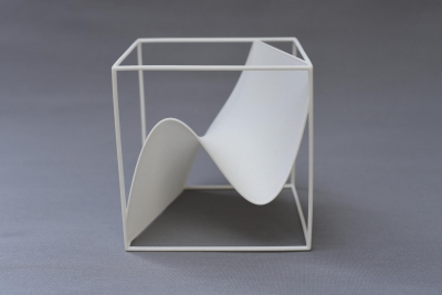 a 3d graph of a cubic function - a MO-Labs model on math-sculpture.com
