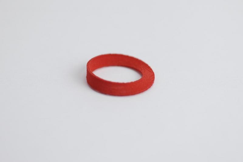 Moebius Strip pendant - a piece of MO-Labs math jewelry on Math-Sculpture.com